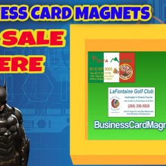 Buy Advertising Business Card Magnets   Business Card Magnets On Sale