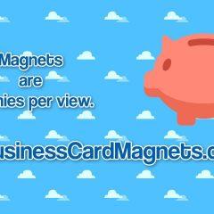 Buy Business Card Fridge Magnets Business CardMagnets For Sale