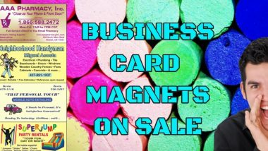 Buy Cheap Business Card Magnets on sale now
